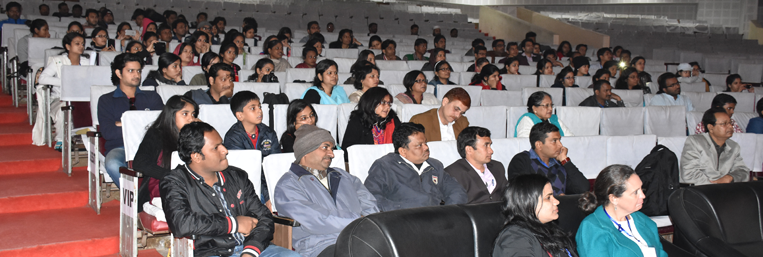A view of conference audiences